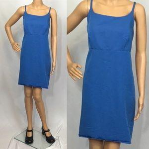 Vintage 90s Y2K Gap  Blue Sleeveless Mini Dress